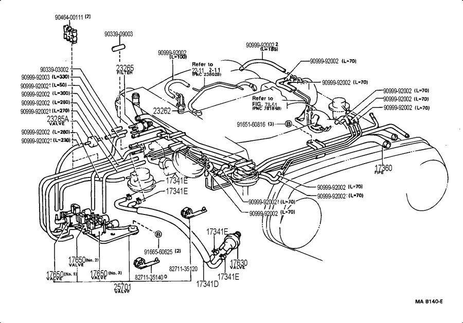 1994 toyota 22re vacuum hose diagram  1994  free engine image for user manual download