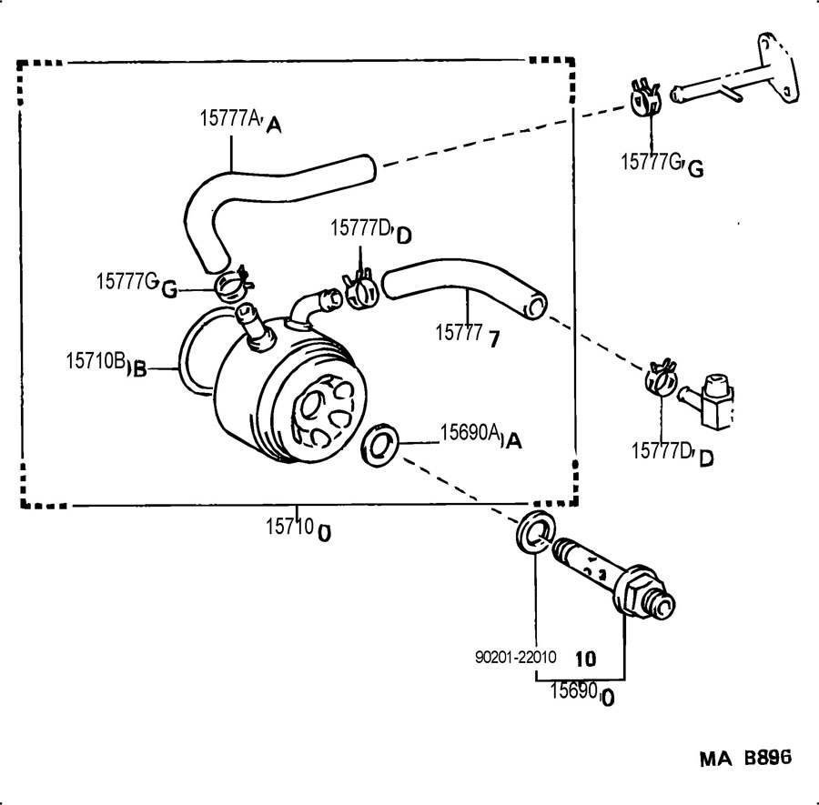 2008 audi a4 thermostat location