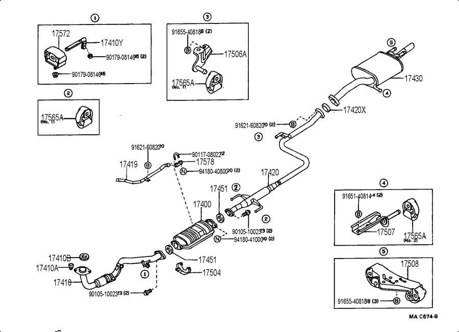 2000 chevy tracker exhaust system diagram  chevy  engine