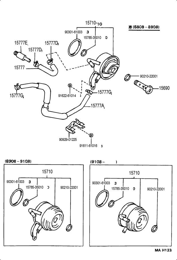 toyota 3vze timing belt diagram