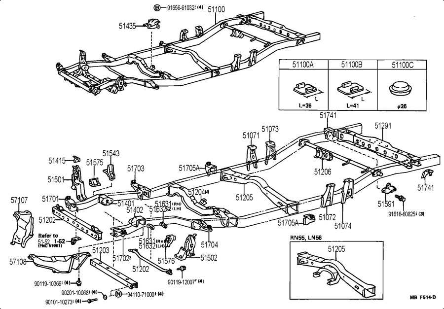 Toyota Sienna Ac Not Workingblowing Warm Air Rear Line Failure furthermore 6047f Toyota Celica Change Disassemble Rear Wheel Hub Bearing additionally 2004 Mitsubishi Endeavor Parts Catalog further 9031141009 also P 0996b43f80378e14. on toyota 4runner axle housing