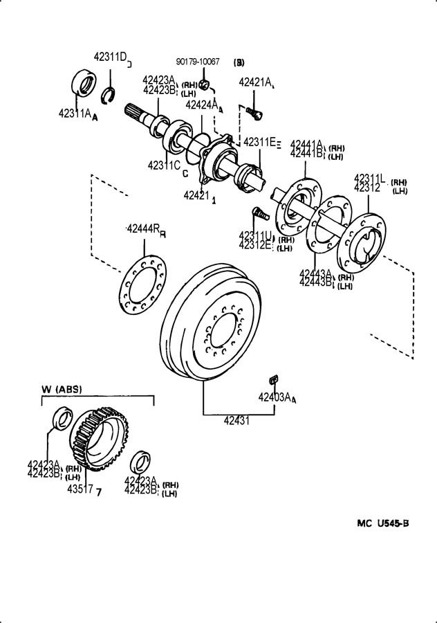 question about axle shaft