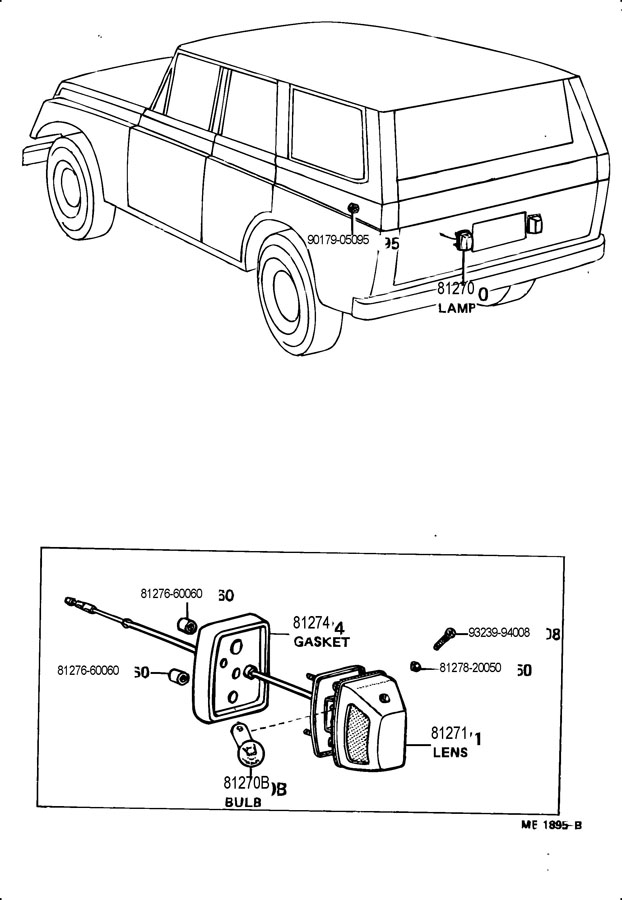 1978 toyota land cruiser wagon 4200cc  manual  4