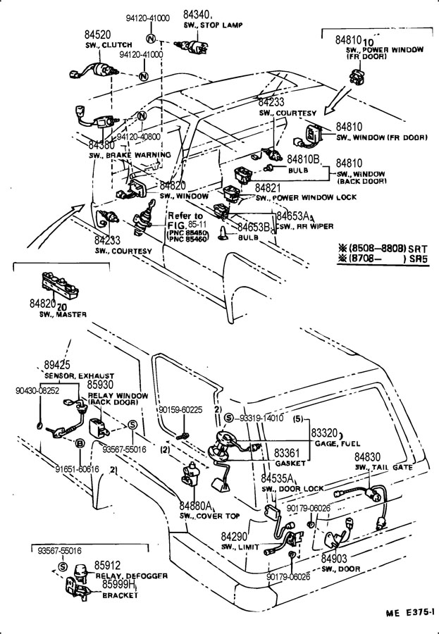 2003 toyota sequoia fuse diagram