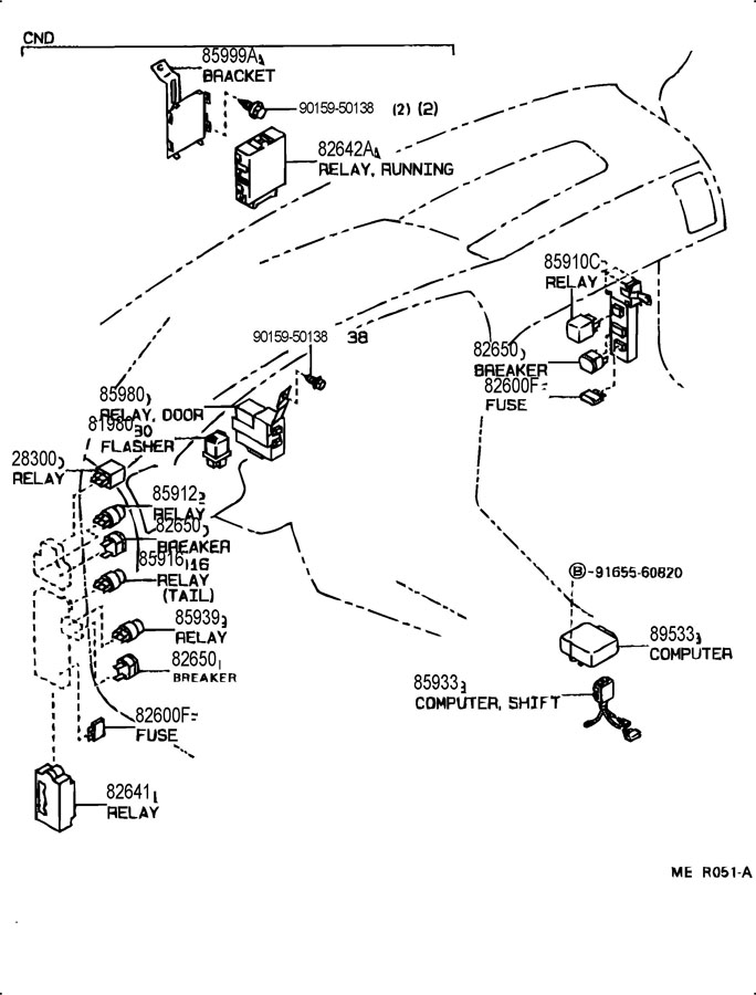 Toyota 4runner Engine Diagram Toyota Runner Wiring Diagram Image