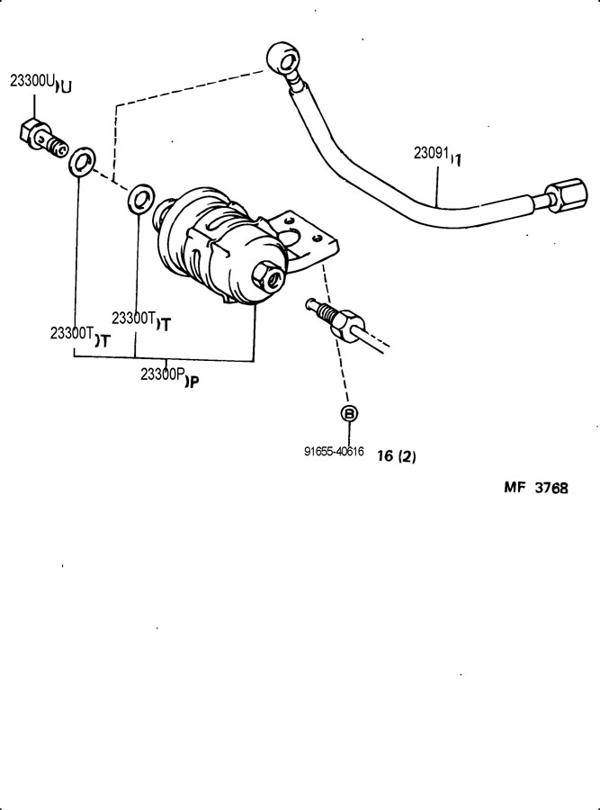toyota supra fuel injection system