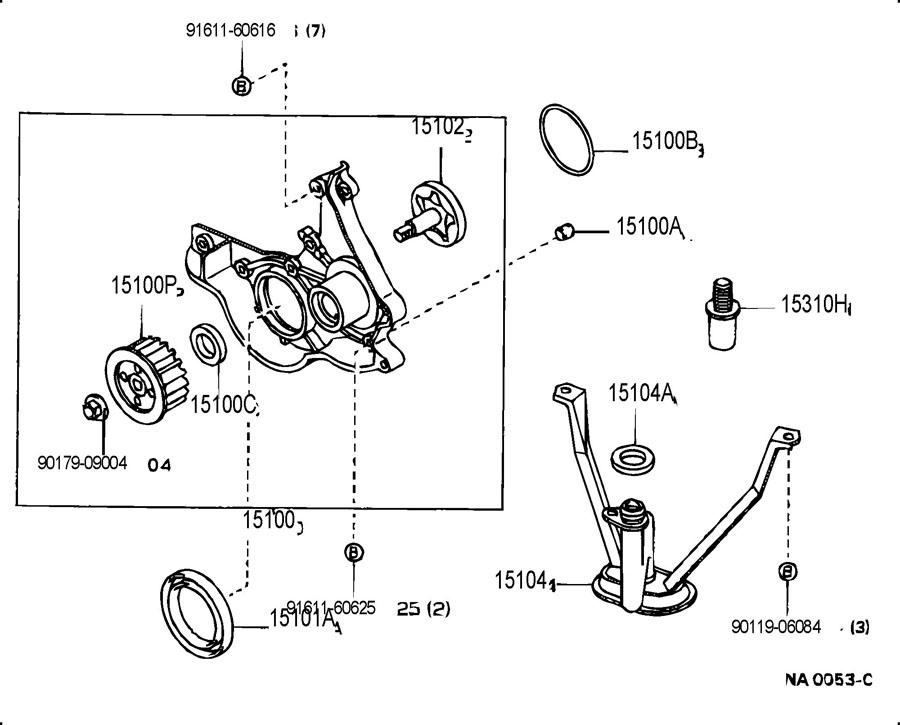 1992 toyota tercel engine diagram 9672124063    toyota    ring  o for oil pump  ofor    toyota     9672124063    toyota    ring  o for oil pump  ofor    toyota